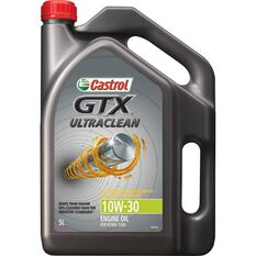 Castrol GTX Ultraclean Semi Synthetic Engine Oil 10W-30 5 Litre, , scaau_hi-res