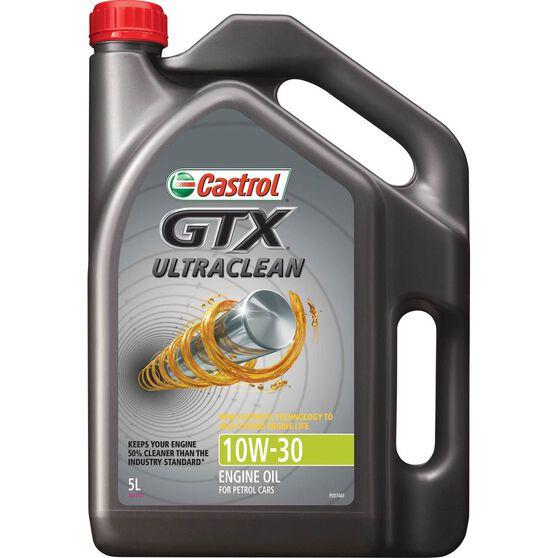Castrol GTX Ultra Clean Engine Oil - 10W-30, 5 Litre, , scaau_hi-res