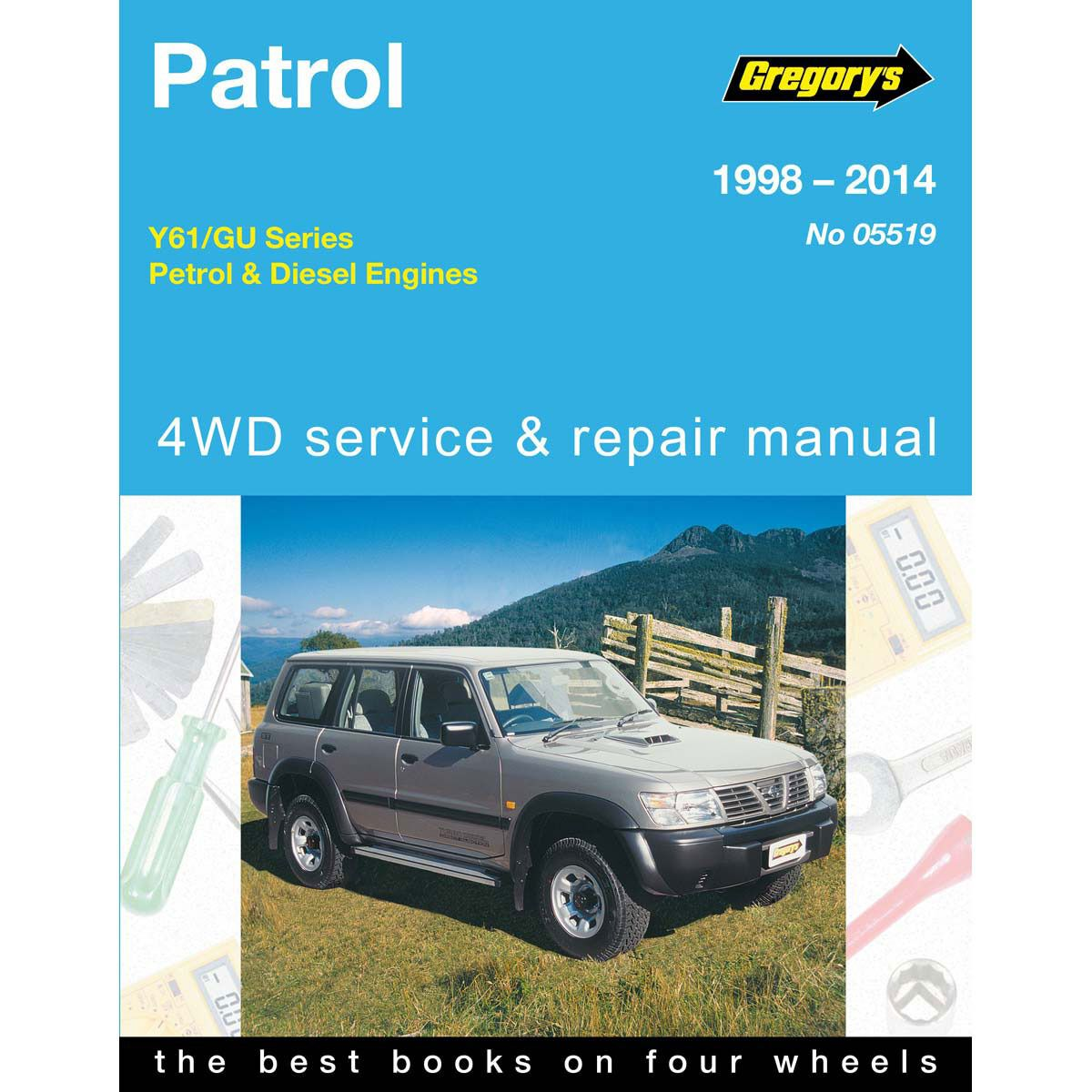 gregory s car manual for nissan patrol 1998 2014 519 supercheap auto rh supercheapauto com au