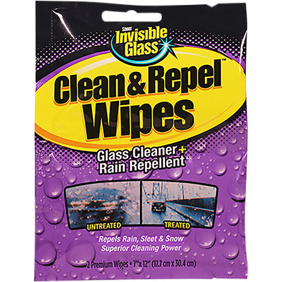 Invisible Clean & Repel Wipes - 2 Pack, , scaau_hi-res