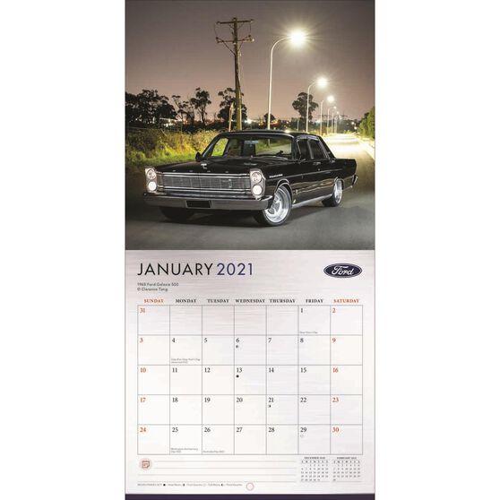 Calendar Ford Classic Cars Mini 2021, , scaau_hi-res