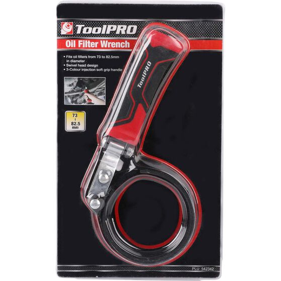 ToolPRO Oil Filter Wrench - 73-82mm, , scaau_hi-res