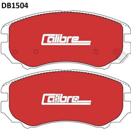 Calibre Disc Brake Pads - DB1504CAL, , scaau_hi-res