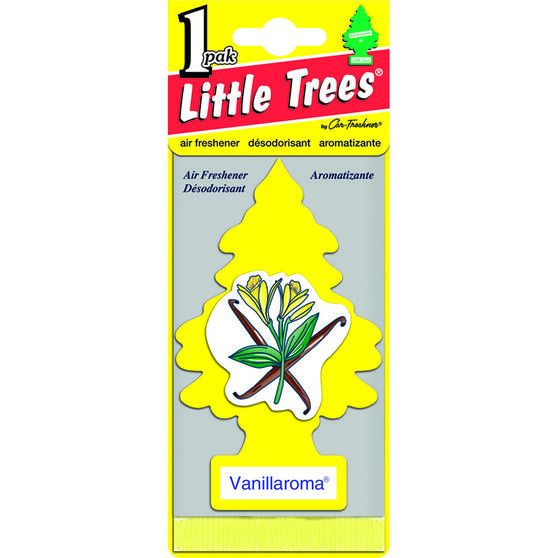 Little Trees Air Freshener - Vanillaroma, 1 Pack, , scaau_hi-res