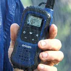 Oricom Waterproof UHF 2W 2 Pack UHF2295-2BL, , scaau_hi-res