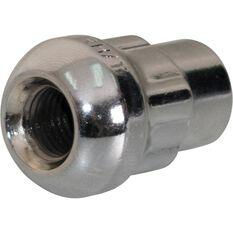 Calibre Wheel Nuts, Tapered Lock, Chrome - SLN716, 7 / 16inch, , scaau_hi-res