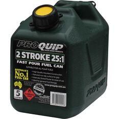 Pro Quip 2 Stroke Jerry Can - 5 Litre, , scaau_hi-res