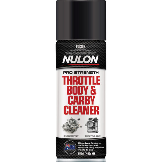 Nulon Throttle Body and Carby Cleaner 400g, , scaau_hi-res