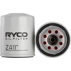 Ryco Oil Filter - Z411, , scaau_hi-res