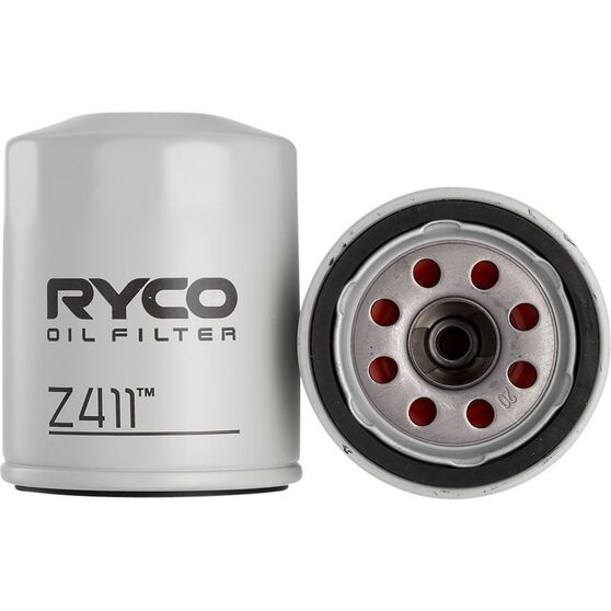Ryco Oil Filter - Z411, , scaau_hi-res
