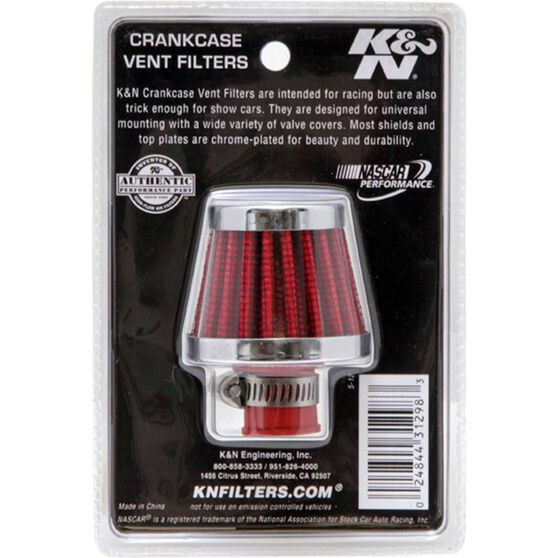 K&N Crankcase Vent Filter - KN 62-1600RD, , scaau_hi-res