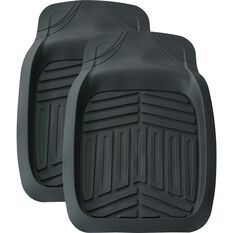 Ridge Ryder Deep Dish Car Floor Mats - Black, Front Pair, , scaau_hi-res
