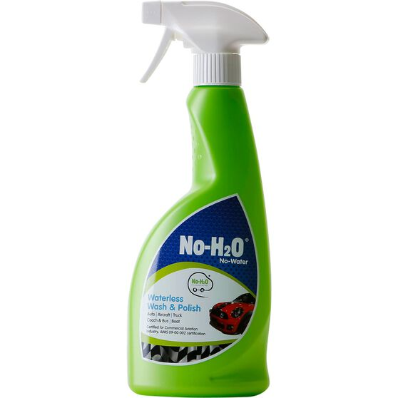 No-H2O Waterless Wash & Polish - 500mL, , scaau_hi-res