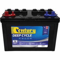 Century Deep Cycle Battery - N70T, 102Ah, , scaau_hi-res
