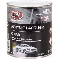 SCA Acrylic Paint - Clear, 2 Litre, , scaau_hi-res