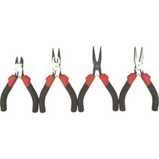 ToolPro Mini Plier Set - 4 Pieces, , scaau_hi-res