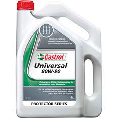 Castrol Universal 80W-90 Manual Transmission Fluid 4 Litre, , scaau_hi-res