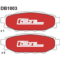 Calibre Disc Brake Pads DB1803CAL, , scaau_hi-res
