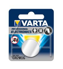 Varta Lithium Coin Battery - CR2016, 1 Pack, , scaau_hi-res
