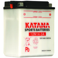 Katana Powersports Battery 12N14-3A, , scaau_hi-res