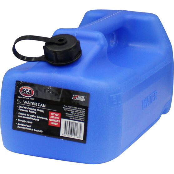 SCA Water Carry Can - 5 Litre, Blue, , scaau_hi-res