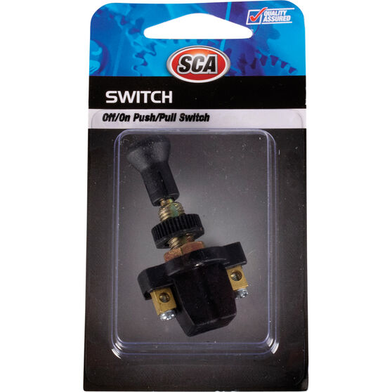 SCA Switch - Push / Pull, Off / On, Long Shank, , scaau_hi-res