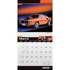 Calendar Mustang Square 2021, , scaau_hi-res