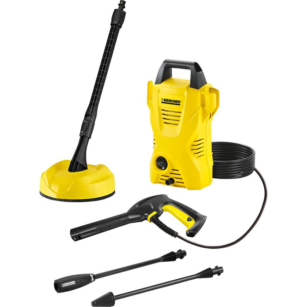 karcher k2 compact plus home pressure washer 1600 psi. Black Bedroom Furniture Sets. Home Design Ideas