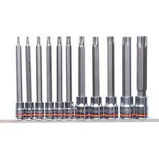 Kincrome Tamperproof TORX Long Socket Set 11 piece, , scaau_hi-res