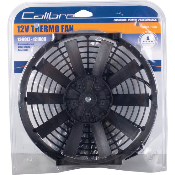 Calibre Thermo Fan - 12 Volt, 12 inch, , scaau_hi-res