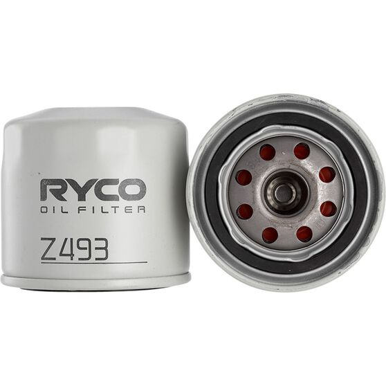 Ryco Oil Filter - Z493, , scaau_hi-res
