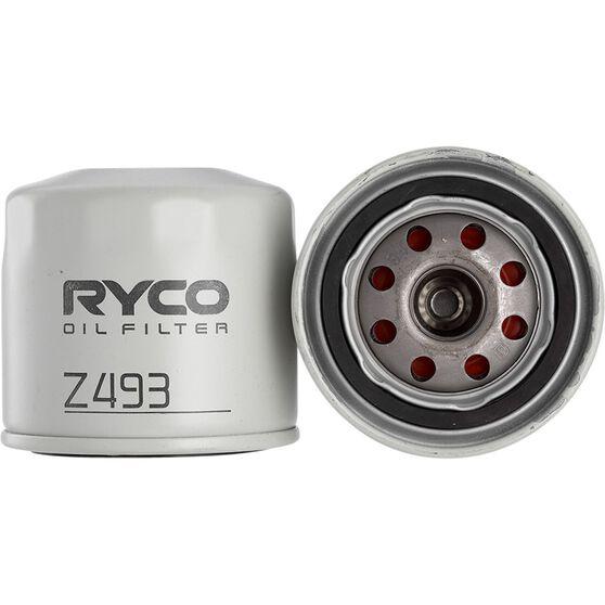 Ryco Oil Filter - Z493, , scaau_hi-res