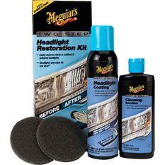 Meguiar's Two Step Headlight Restoration Kit, , scaau_hi-res