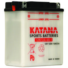 Katana Powersports Battery 12N12A-4A-1, , scaau_hi-res