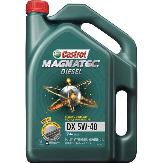 Castrol MAGNATEC Diesel Engine Oil 5W-40 DX 5 Litre, , scaau_hi-res