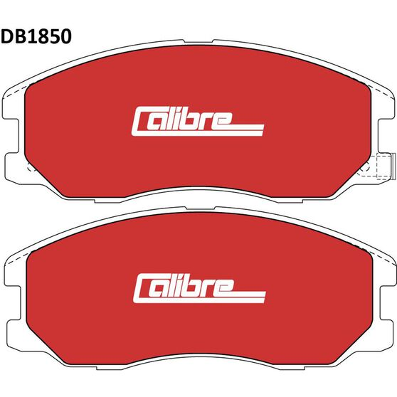 Calibre Disc Brake Pads - DB1850CAL, , scaau_hi-res
