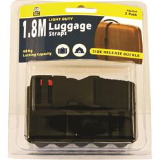 Gripwell Luggage Strap - 1.8m, 68kg, 2 Pack, , scaau_hi-res