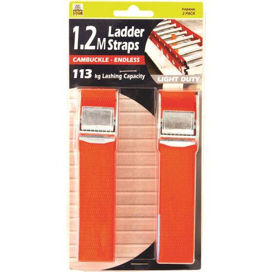 Gripwell Ladder Strap - 1.2m, 113kg, 2 Pack, , scaau_hi-res