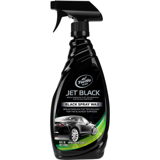Turtle Wax Jet Black Spray Wax - 473mL, , scaau_hi-res