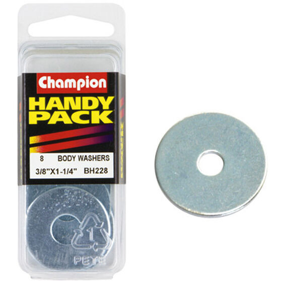Champion Panel Washer - 3 / 8inch X 1-1 / 4inch, BH228, Handy Pack, , scaau_hi-res
