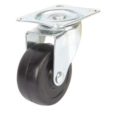 SCA Caster Wheel - 50 x 22mm, Plastic, Swivel, , scaau_hi-res