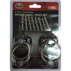 SCA Anchor Point,  Track - 340kg, 4 Pack, , scaau_hi-res
