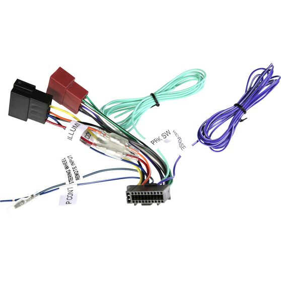 Aerpro Wiring Harness - suit JVC / Kenwood Head Units, APP8KE4, , scaau_hi-res