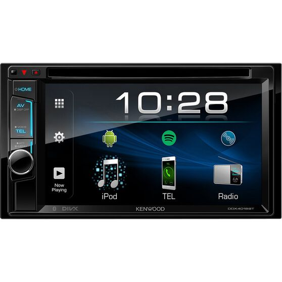 Kenwood 6.2inch Touchscreen DVD Player with Bluetooth - DDX4018BT, , scaau_hi-res