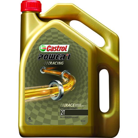 Castrol Power 1 Racing 2T Motorcycle Oil - 4 Litre, , scaau_hi-res
