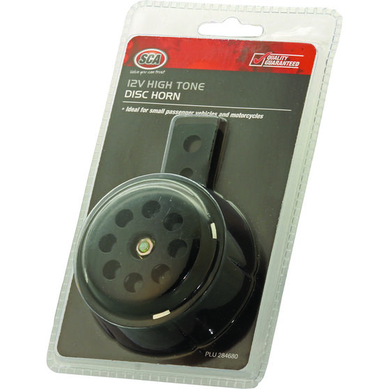 SCA 12V Disc Horn - High Tone, , scaau_hi-res