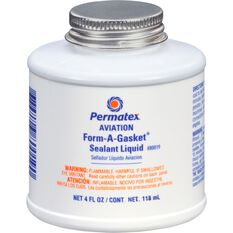 Permatex Aviation Form-A-Gasket Sealant Liquid, No. 3 -  118mL, , scaau_hi-res