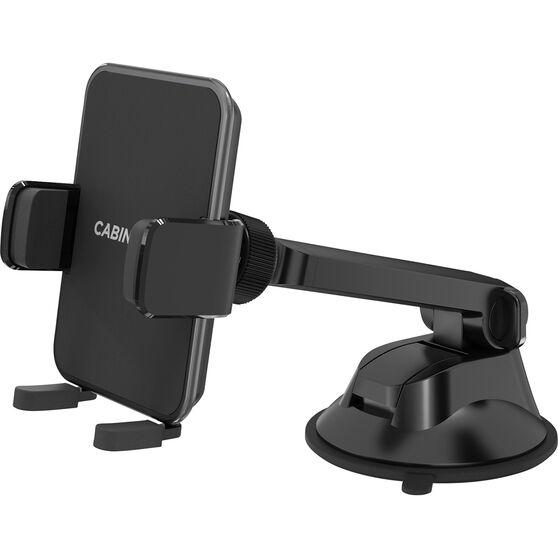 Cabin Crew Phone Holder - Suction Mount, Expander, Black, , scaau_hi-res