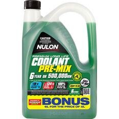 Nulon Anti-Freeze / Anti-Boil  Green Premix Coolant - 6 Litre, , scaau_hi-res