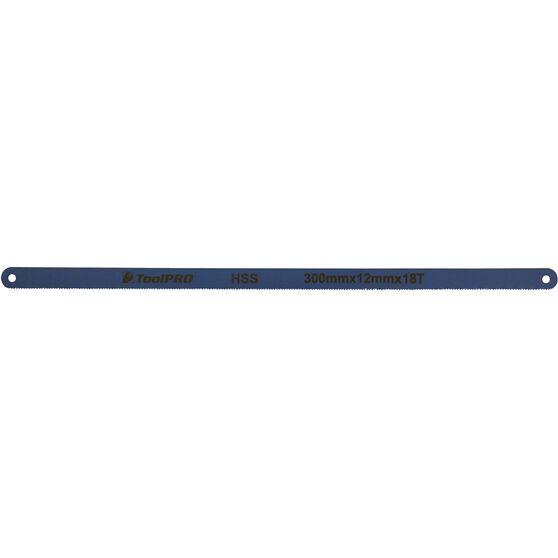 ToolPRO Hacksaw Blade - 300 x 12mm x 18T, Blue, , scaau_hi-res